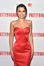 Samantha Barks at Pretty Woman: The Musical Opening Night in New York 2018/08/16 4