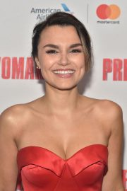 Samantha Barks at Pretty Woman: The Musical Opening Night in New York 2018/08/16 9