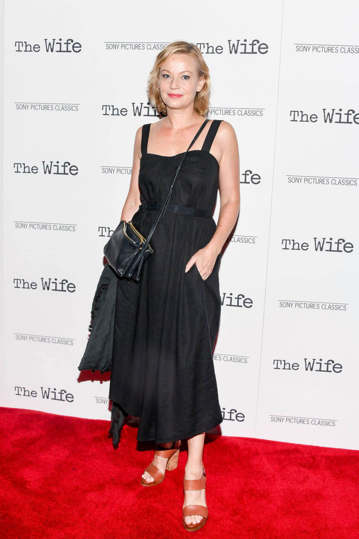 Samantha Mathis at The Wife Screening in New York 2018/07/26 1