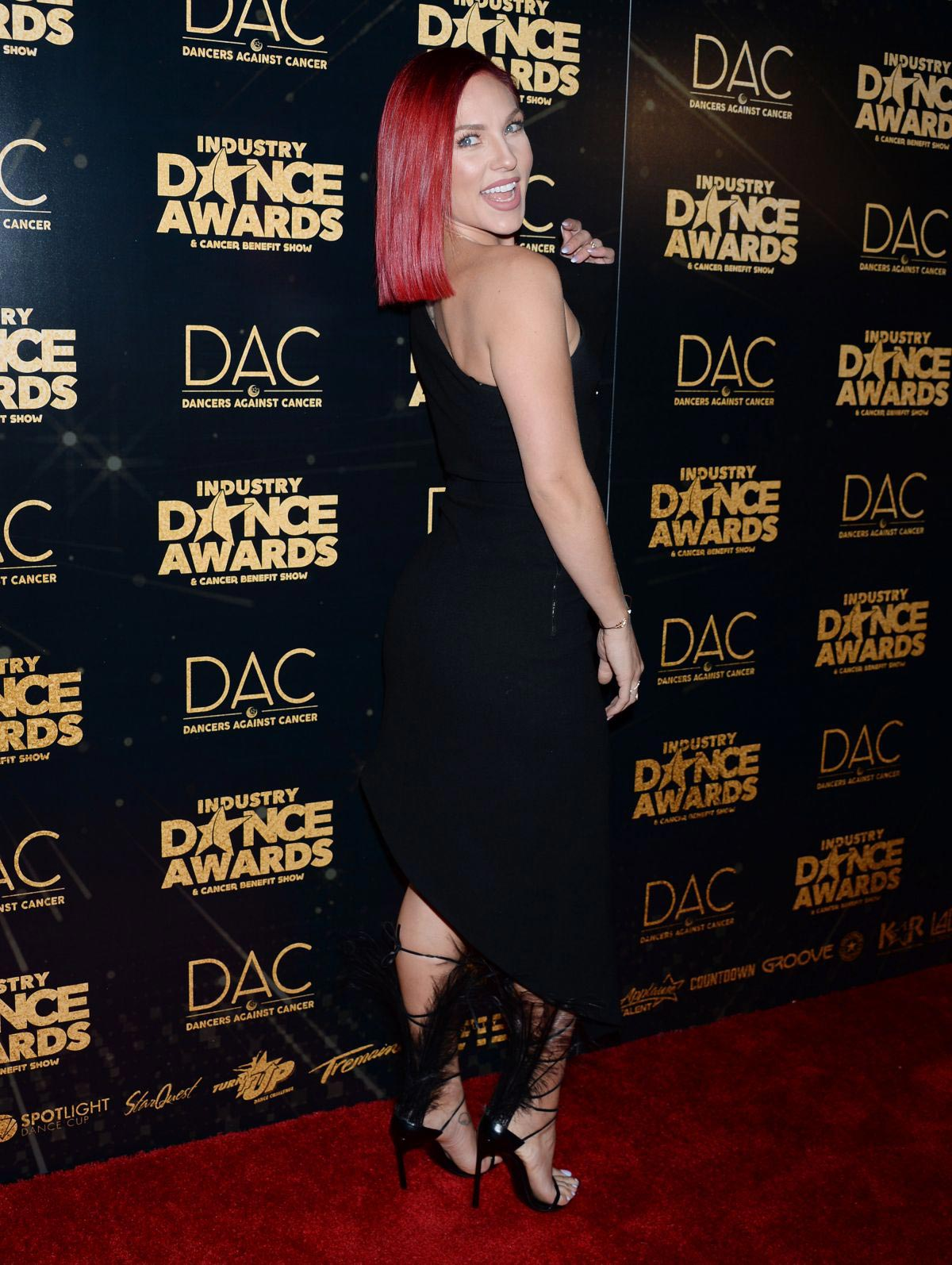 Sharna Burgess at Industry Dance Awards 2018 in Hollywood 2018/08/15 1