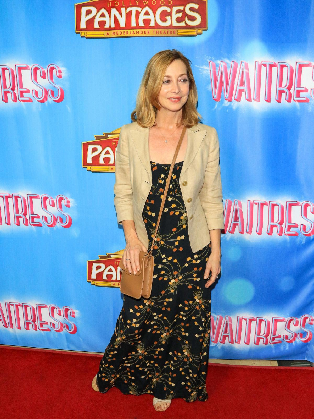 Sharon Lawrence at Waitress National Tour at Hollywood Pantages Theatre 2018/08/03 1