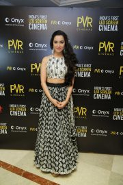 Shraddha Kapoor at Launch of First Led Screen Cinema Onyx in New Delhi 2018/08/27 3