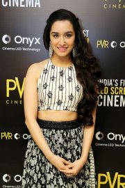Shraddha Kapoor at Launch of First Led Screen Cinema Onyx in New Delhi 2018/08/27 5