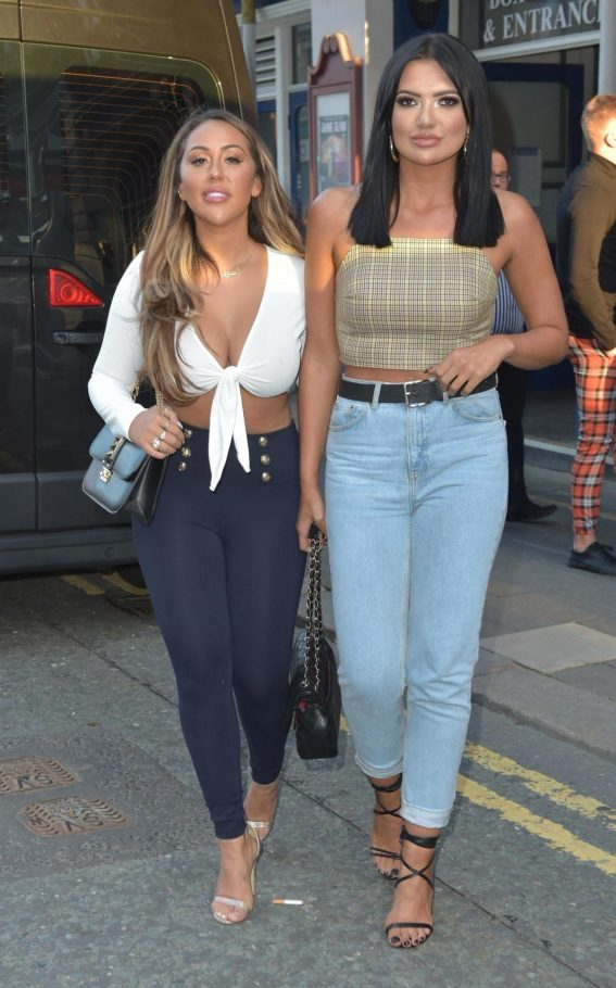 Sophie Kasaei and Abbie Holborn at Dreamboys Show in Newcastle 2018/08/16 1