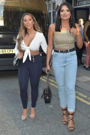 Sophie Kasaei and Abbie Holborn at Dreamboys Show in Newcastle 2018/08/16 10