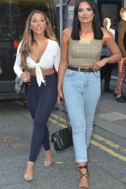 Sophie Kasaei and Abbie Holborn at Dreamboys Show in Newcastle 2018/08/16 11