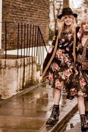 Suki Waterhouse and Georgia May Jagger for Twinset's Fall/Winter 2018 Campaign 6