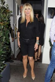 Suzanne Somers Leaves Madeo in Beverly Hills 2018/08/15 9