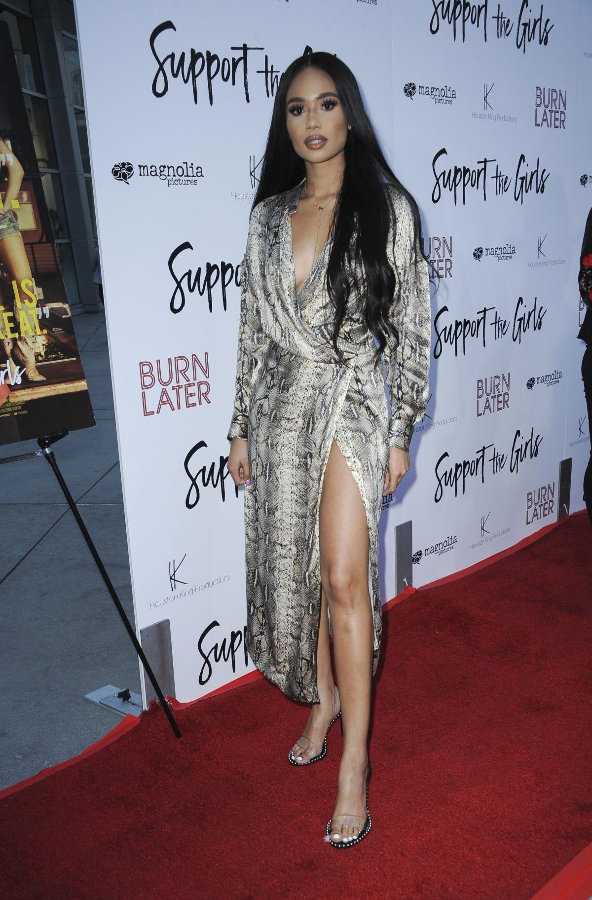 Symphani Soto at Support the Girls Premiere in Los Angeles 2018/08/22 1