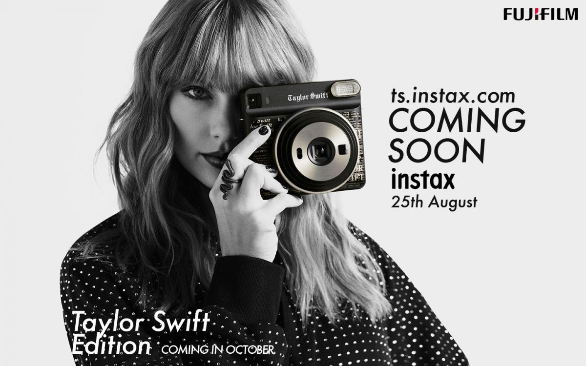 Taylor Swift for Fujifilm Instax Square SQ6 Taylor Swift Edition Camera 2018/08/27 1