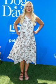 Tori Spelling at Dog Days Premiere in Century City 2018/08/05 9