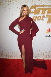 TYRA BANKS at America's Got Talent Live Show in Hollywood 2018/08/21 3
