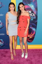 Veronica Merrell and Vanessa Merrell at 2018 Teen Choice Awards in Beverly Hills 2018/08/12 1