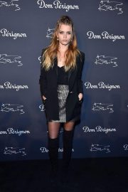 Abbey Lee Kershaw at Dom Perignon & Lenny Kravitz: Assemblage Exhibition in New York 2018/09/28 1