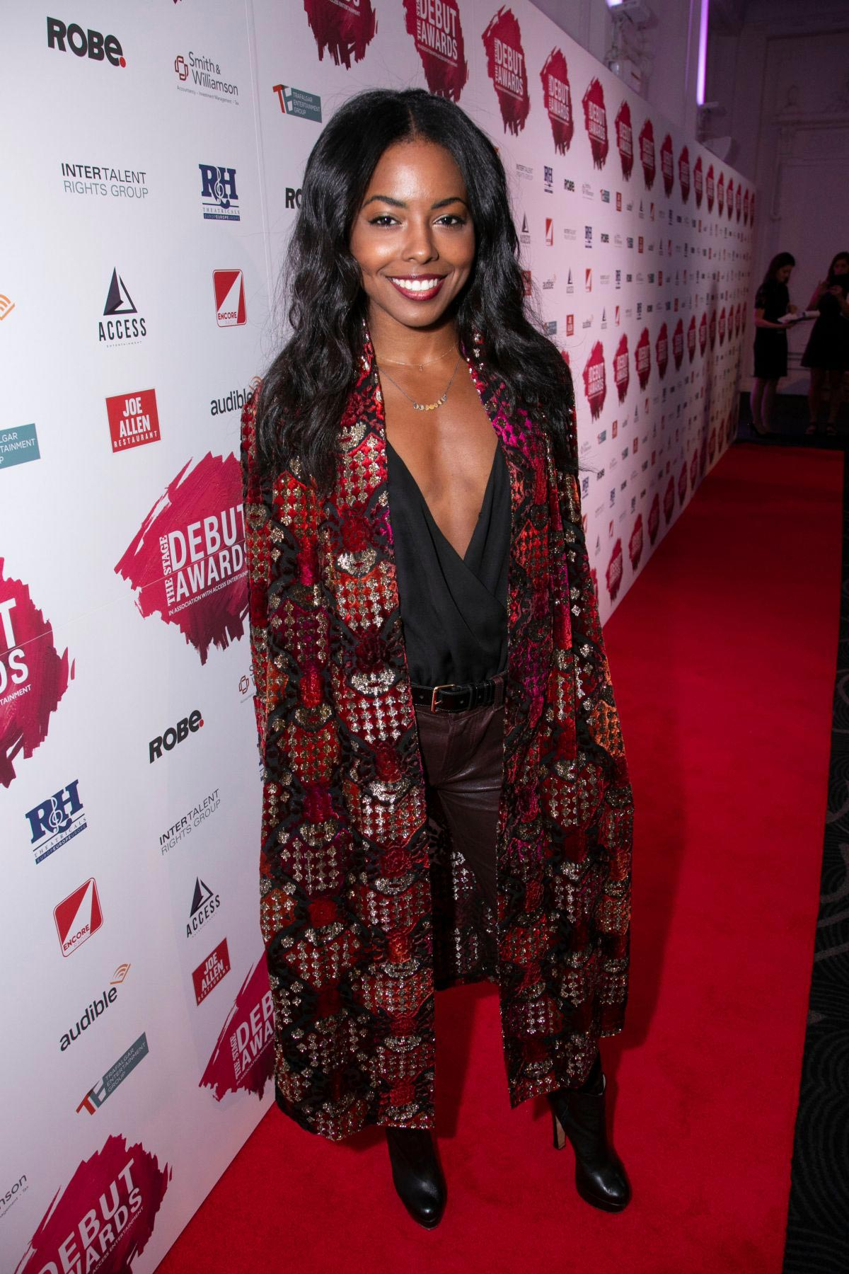 Adrienne Warren at Stage Debut Awards 2018 Arrivals in London 2018/09/23 1