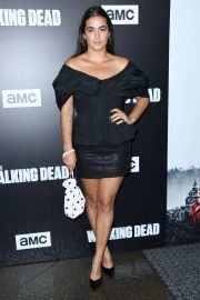 Alanna Masterson at The Walking Dead Premiere Party in Los Angeles 2018/09/27 3