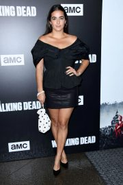 Alanna Masterson at The Walking Dead Premiere Party in Los Angeles 2018/09/27 6