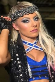 Alexa Bliss at WWE Hell in a Cell in San Antonio 2018/09/16 13