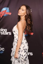 Alexis Ren at Dancing with the Stars Season 27 Sast Reveal in New york 2018/09/12 1