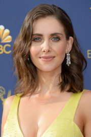 Alison Brie at Emmy Awards 2018 in Los Angeles 2018/09/17 2