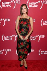 Allison Williams at Montblanc M Red Collection Launch in New York 2018/09/27 7