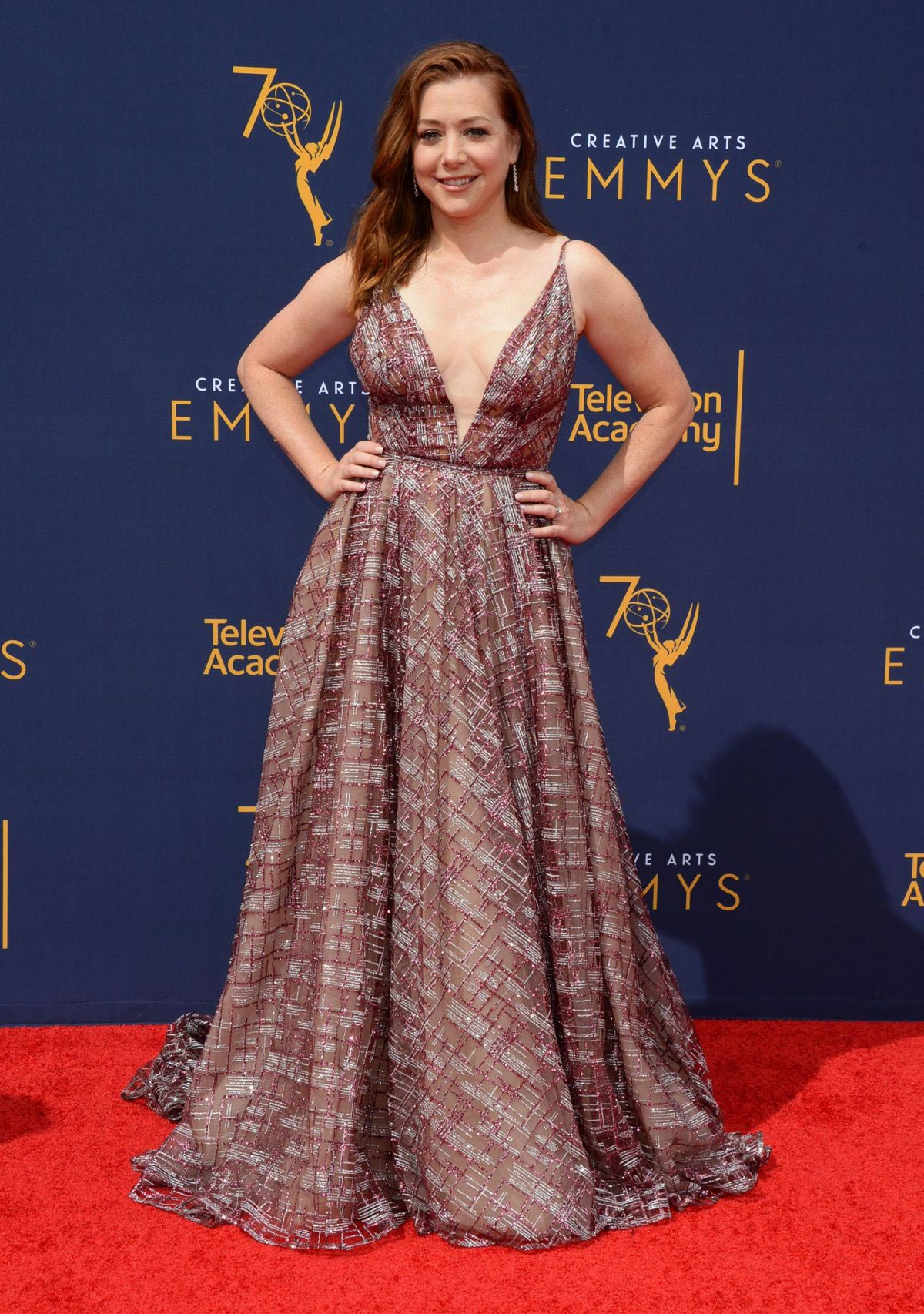 Alyson Hannigan at 2018 Creative Arts Emmy Awards in Los Angeles 2018/09/08 1
