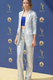 Amanda Crew at Emmy Awards 2018 in Los Angeles 2018/09/17 2
