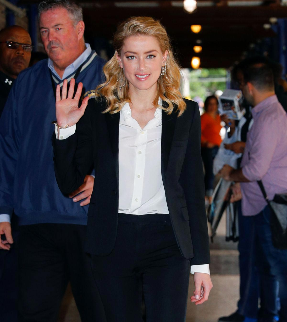 Amber Heard Arrives at 92Y in New York 2018/09/23 1