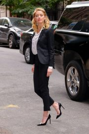 Amber Heard Arrives at 92Y in New York 2018/09/23 4