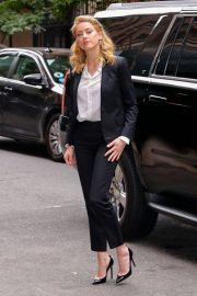 Amber Heard Arrives at 92Y in New York 2018/09/23 6