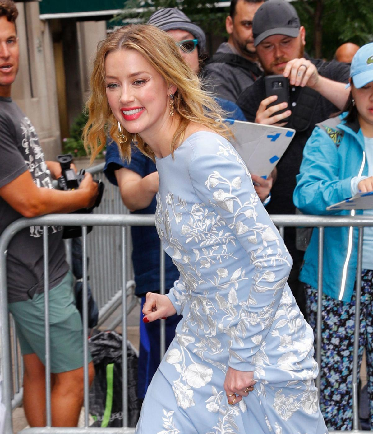 Amber Heard Heading to Cantor Charity Day in New York 2018/09/11 1