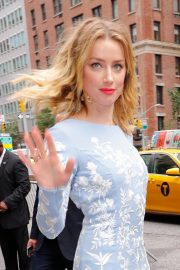 Amber Heard Heading to Cantor Charity Day in New York 2018/09/11 3