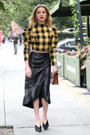 Amber Heard Out for Lunch in New York 2018/09/11 2