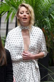 Amber Heard Promoted Her Film in Toronto 2018/09/09 1