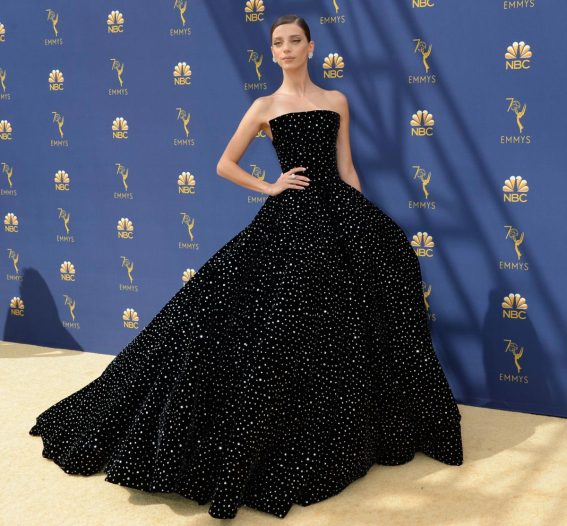 Angela Sarafyan at Emmy Awards 2018 in Los Angeles 2018/09/17 1