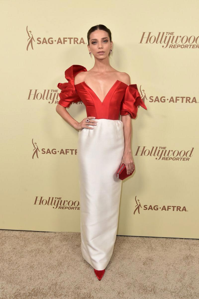 Angela Sarafyan at Thr & Sag-aftra Celebrate Emmy Award Contenders in Beverly Hills 2018/09/14 1