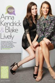 Anna Kendrick and Blake Lively in People Magazine, September 2018 1