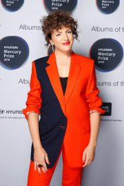 Annie Mac at Mercury Prize Albums of the Year Awards in London 2018/09/20 2