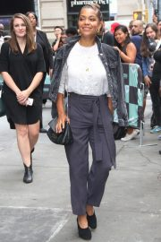 Antonia Thomas Arrives at AOL Build Series in New York 2018/09/26 3