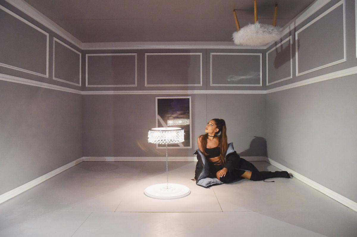 Ariana Grande at Spotify's Sweetener the Experience Pop-up! in New York 2018/09/28 1