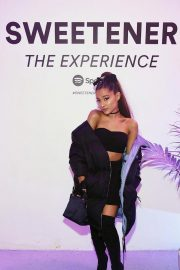 Ariana Grande at Spotify's Sweetener the Experience Pop-up! in New York 2018/09/28 4