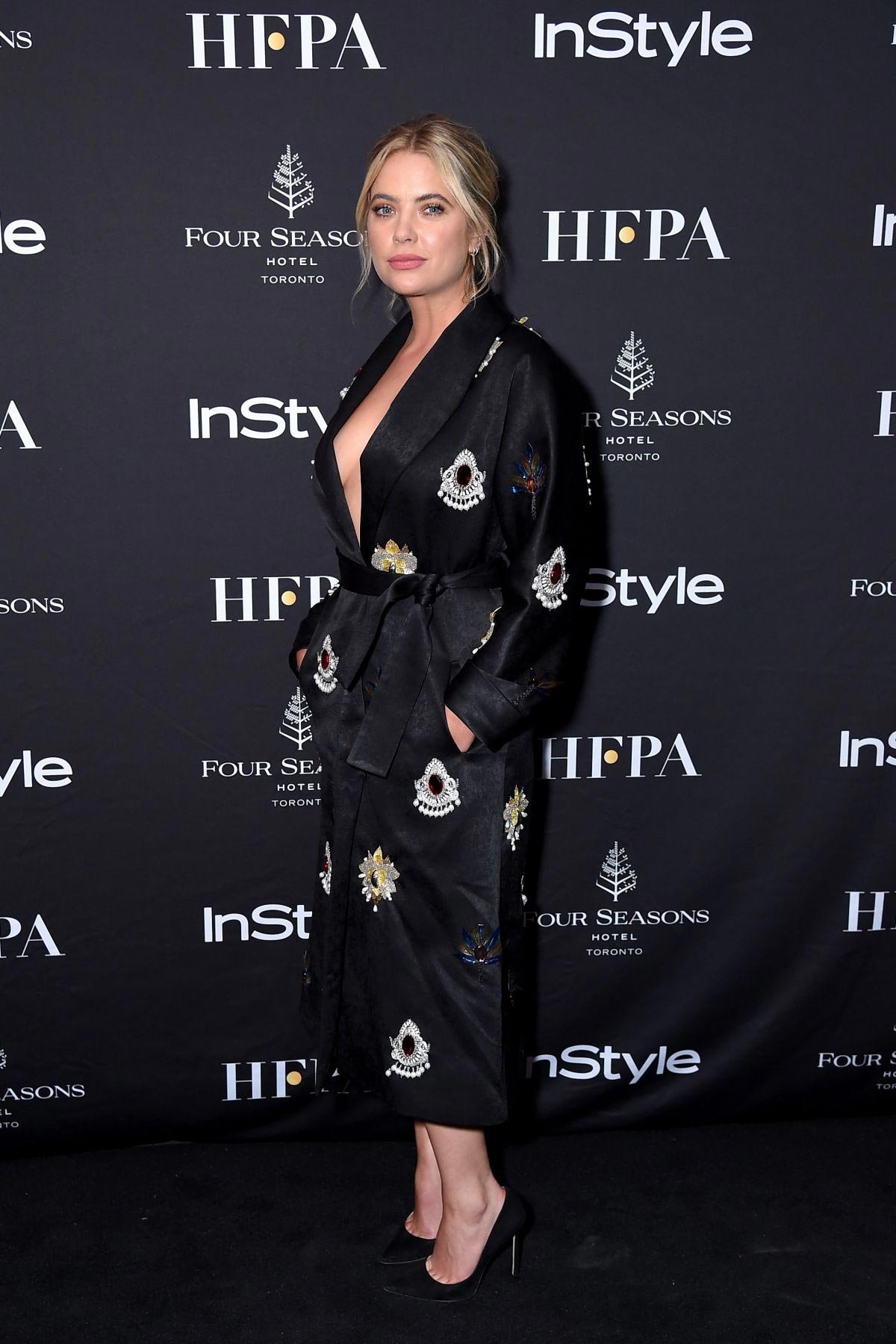 Ashley Benson at Hfpa and Instyle's Tiff Celebration in Toronto 2018/09/08 1