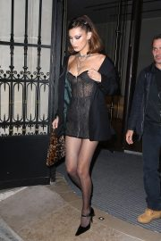 Bella Hadid Arrives at Chrome Hearts Event in Paris 2018/09/25 3