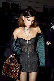 Bella Hadid Arrives at Chrome Hearts Event in Paris 2018/09/25 5