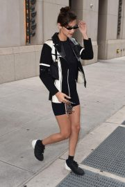 Bella Hadid Out in New York 2018/09/08 2