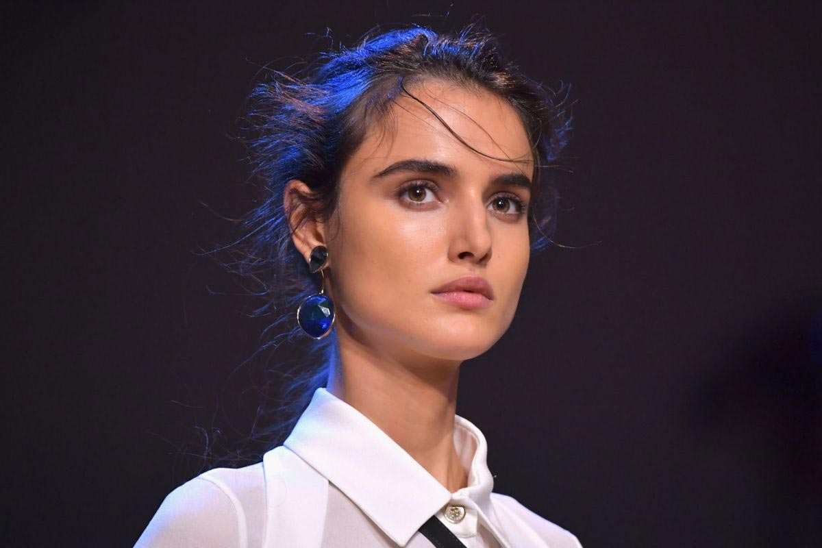 Blanca Padilla at Elie Saab Runway Show at Paris Fashion Week 2018/09/29 1