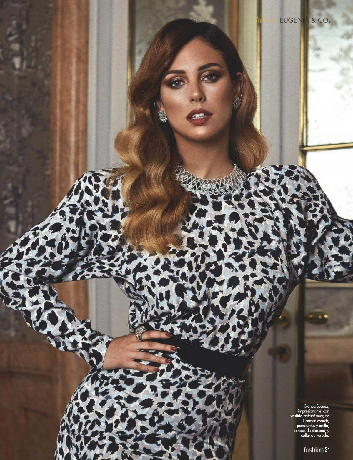 Blanca Suarez in Hola! Fashion Magazine, October 2018 1