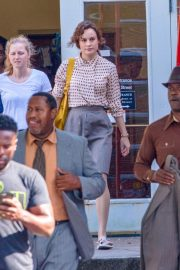 Brie Larson on the Set of Just Mercy in Atlanta 2018/09/22 4