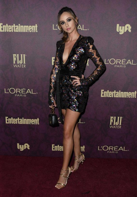 Britt Baron at EW and L'Oreal Paris Pre-emmy Party in Hollywood 2018/09/15 1