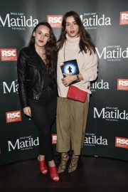 Brooke Vincent and Elle Leech at Matilda Press Night in Manchester 2018/09/20 6